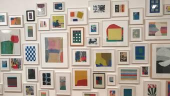 Roman Candio in der Galerie Abbühl Solothurn: Die ungegenständliche Malerei begleitet den Künstler seit über 60 Jahren.