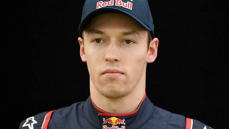 Der Russe Daniil Kwjat debütierte 2014 in der Formel 1