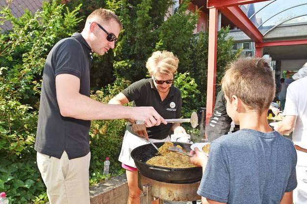 Die 1. August-Feier in Egerkingen.