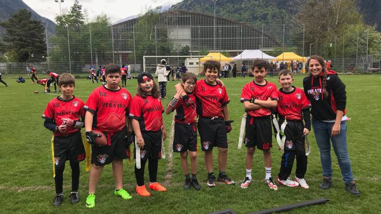 U13 Flag Football Team