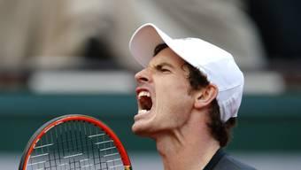Andy Murray hat zwei Gesichter: Hier ist er der wütende und schimpfende Rottweiler.