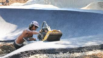 In den letzten Monaten wurde intensiv am Pumptrack gearbeitet.