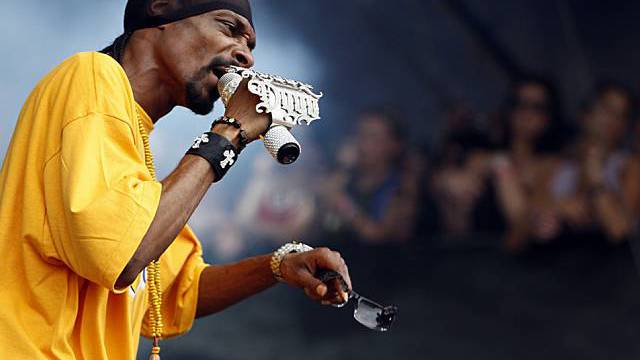Musiker Snoop Dogg in Aktion (Archiv)