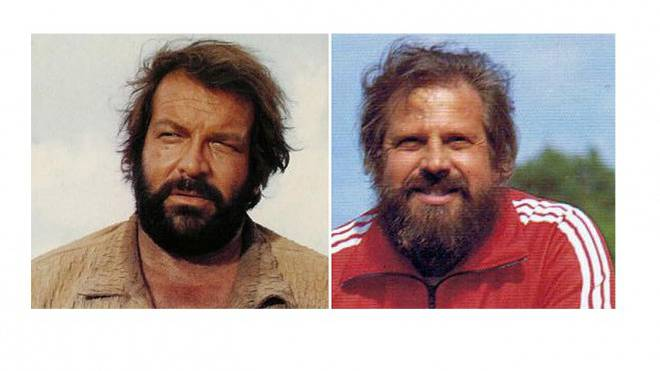 Bud Spencer (links), Paul Wolfisberg. Foto: H0