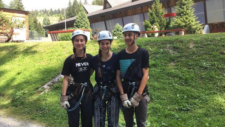 Unser Kids-Team: Miriam, Maja und Tobias