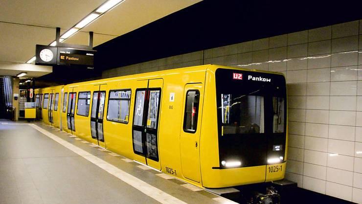Die Berliner Verkehrsbetriebe haben 27 weitere solche U-Bahn-Züge bei Stadler Rail bestellt.