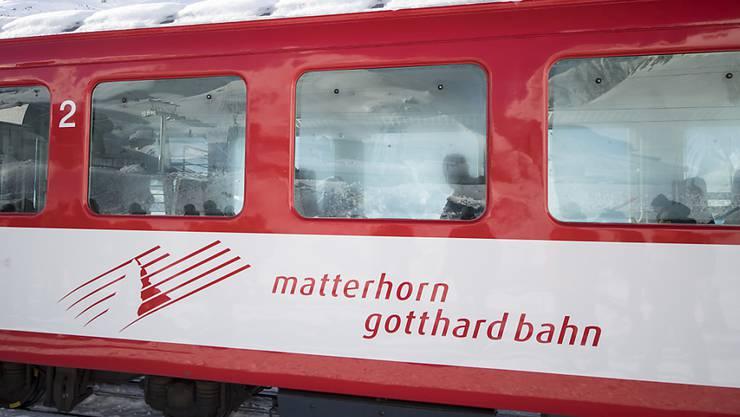 Hat momentan zu wenig Lokführer: Die Matterhorn-Gotthard-Bahn. (Symbolbild)