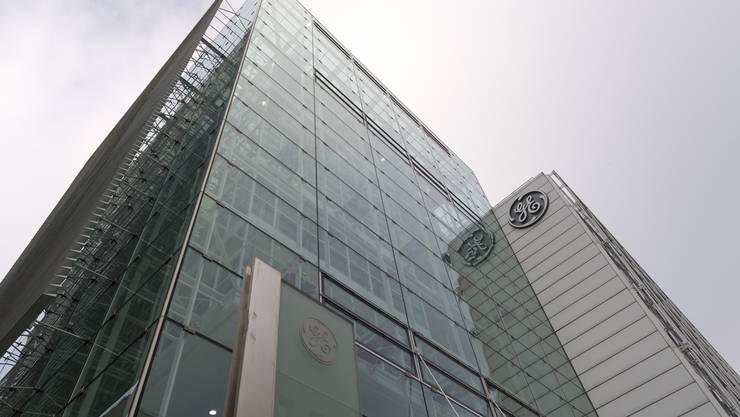 Das Konnex-Gebäude in Baden. 1400 seiner 4500 Schweizer Stellen will General Electric (GE) im Aargau abbauen.