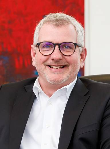 Ein Energiebündel mit reicher Erfahrung: Firmengründer Arne-Christian Faisst.