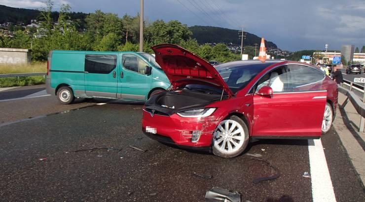 Bei den Unfällen blieb es beim Blechschaden.
