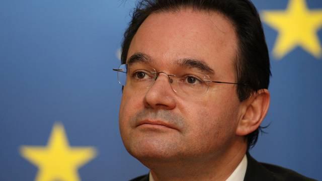 """Der griechische Finanzminister sagt, es habe """"keine Gespräche über eine Umschuldung gegeben"""" (Archiv)"""