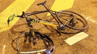 Die Rennvelo-Fahrerin erlitt Verletzungen im Gesicht. (Themenbild)