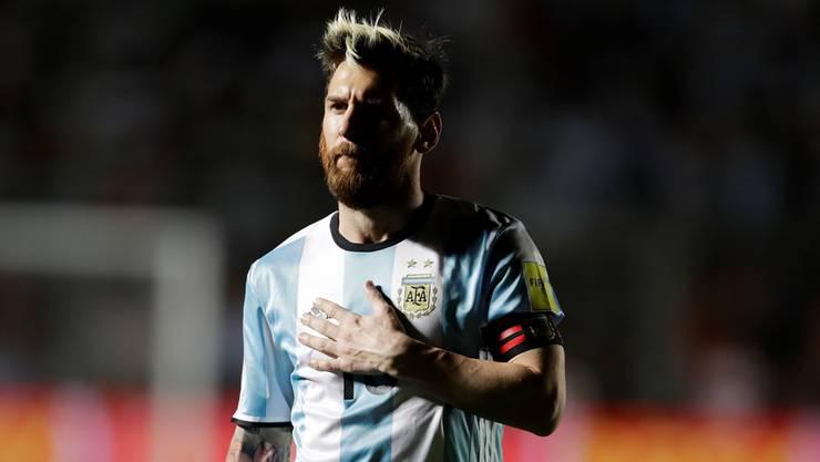 Ein rebellischer Anführer: Der neue Lionel Messi zeigt gerne seine dunkle Seite.key