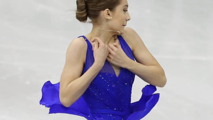 Alexia Paganini zeigte in der Kür Nerven