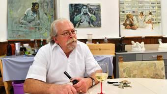 «Ich mag die Abstraktion»: Bei Christoph Aerni tun sich im Pensionsalter neue Horizonte auf.