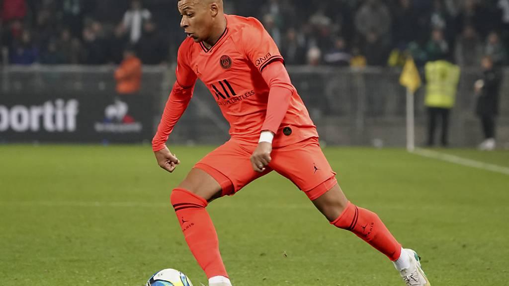 Mbappé trifft zweimal für Paris Saint-Germain