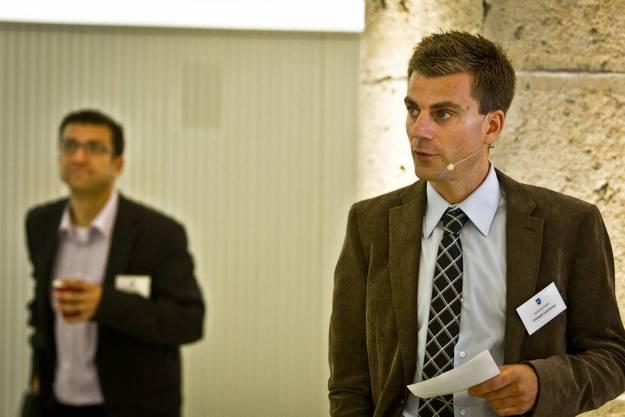 Chirstoph Leuenberger, stv. Kommunikationschef der Regierung.