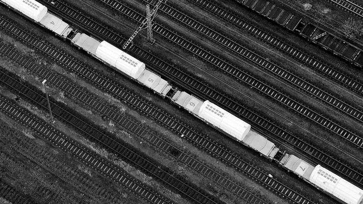 Sollte das Endlager für Atommüll im Weinland gebaut werden, würden die Castor-Züge mit den hochradioaktiven Abfällen durch den Hauptbahnhof Winterthur Richtung Norden rollen.