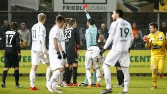 Die besten Bilder von Aarau gegen Xamax; 16. Runde der Challenge League