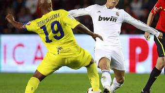 Cristiano Ronaldo bei 38 Saisontoren angelangt