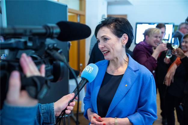 Marianne Binder-Keller (CVP): 12'815 Panaschierstimmen. Bild: Mario Fuchs