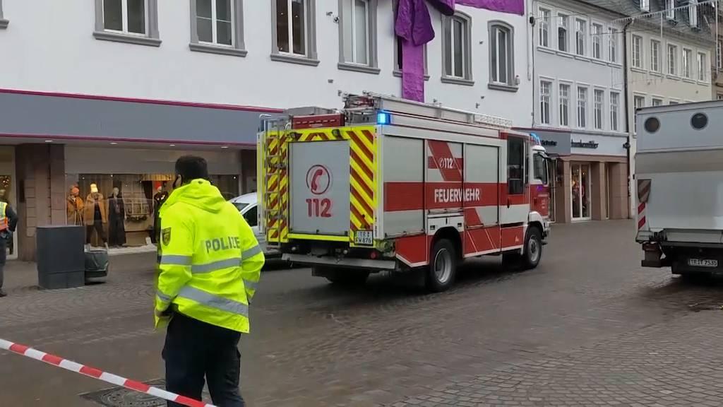 Trier: Auto erfasst und tötet 2 Menschen in Innenstadt