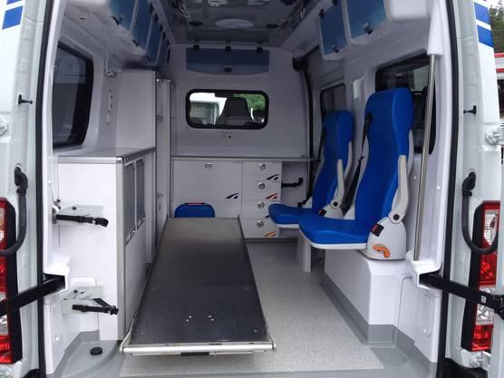 Opel Ambulanzfahrzeug