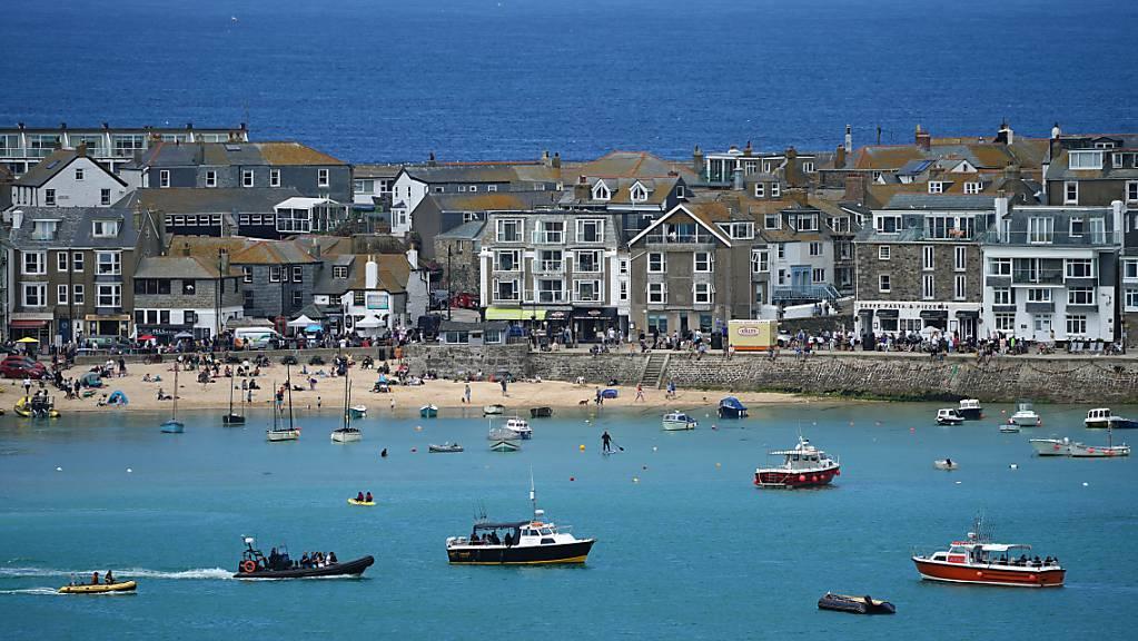 Der G7-Gipfel findet vom 11. bis 13. Juni in Carbis Bay, St Ives in Cornwall statt. Foto: Aaron Chown/PA Wire/dpa