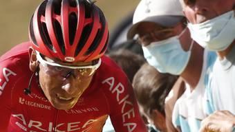 Nairo Quintana litt 2020 am Berg mehr als in den früheren Jahren.