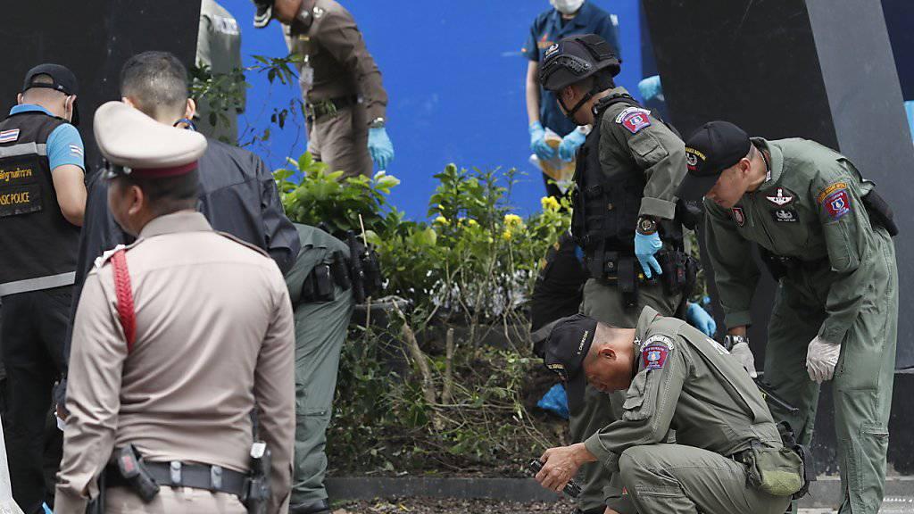 Vier Verletzte bei Explosionen in Bangkok