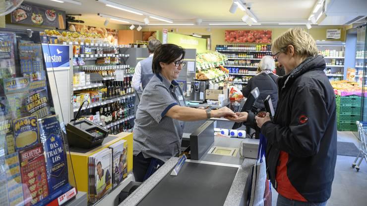 Kunden im Volg können sich über ein angepasstes Sortiment freuen.