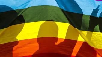 Das Aufziehen von Regenbogenflaggen von ausländischen Vertretungen im Irak hat für Empörung gesorgt. (Symbolbild)