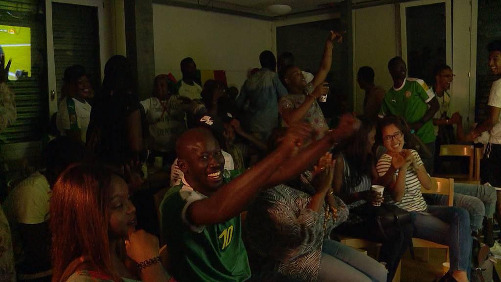 Africa Cup: Senegalesisches Public Viewing in Zürich
