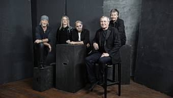 Deep Purple mit Roger Glover, Steve Morse, Ian Paice, Ian Gillan und Don Airey sind zurück.