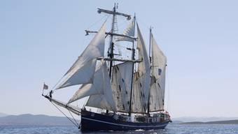 Das Jugendschiff Salomon in ferienidyllischer Umgebung