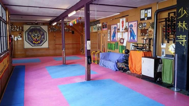 Die Kung Fu-Schule Olten bietet in dieser Lokalität eine Notschlafgelegenheit an; bislang hat sich niemand dafür interessiert.