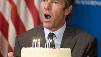 Kuchen kommt Dennis Quaid gerade recht (Archiv)
