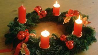 Noch brennen erst drei «Apfänts»-Kerzen