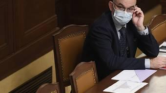 ARCHIV - Jan Blatny, Gesundheitsminister von Tschechien, .bei einer Sitzung der Abgeordnetenkammer. Foto: Ondøej Deml/CTK/dpa