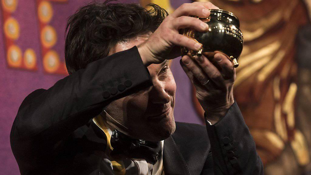 Paul Rudd nimmt «Hasty Pudding»-Preis und Büstenhalter entgegen