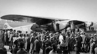 Zu Zeiten der Fluggesellschaft Belair war das Fliegen noch etwas spezielles.