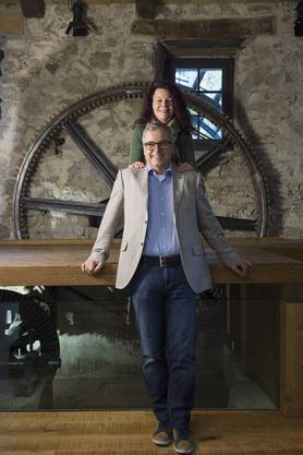 Bernadette und André Zemp haben die Untere Mühle saniert und wollen hier einen Ort der Begegnung schaffen