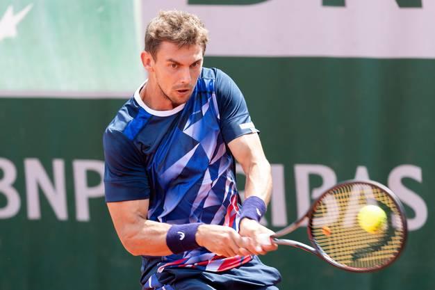 Henri Laaksonen qualifizierte sich zum zweiten Mal für die French Open.