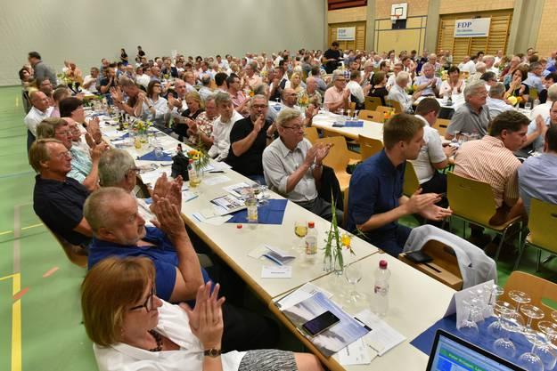 Die Delegierten kamen in Däniken zur Nominationsversammlung zusammen