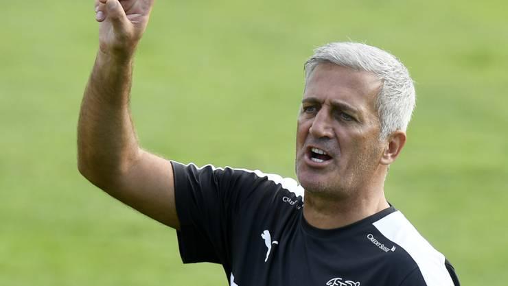 Der Schweizer Nationalcoach Vladimir Petkovic vor dem Duell mit Portugal