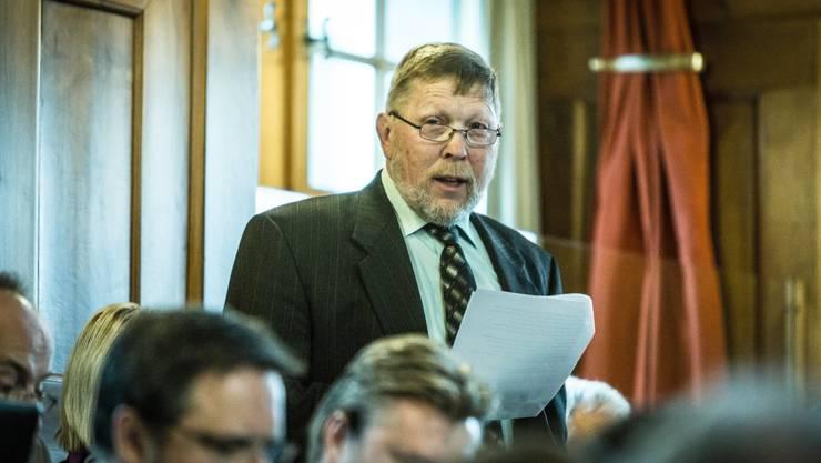Hanspeter Haug, SVP Weinigen.