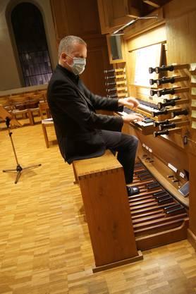 Bernhard Hörler, Hauptorganist und Kirchenmusiker an der St. Agathakirche in Dietikon
