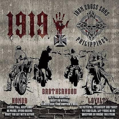 Rechtsextremen-Codes auf der Website der «Iron Cross Sons»: 1919 steht für die SS, Hitlers Schutzstaffel.