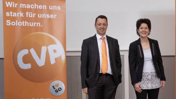 Thomas A. Müller und Sandra Kolly-Altermatt kandidieren für die Regierungsratswahlen.