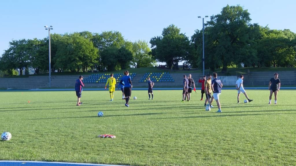 Fussballtraining mit Schutzkonzept: Ein Besuch beim FC Wallisellen